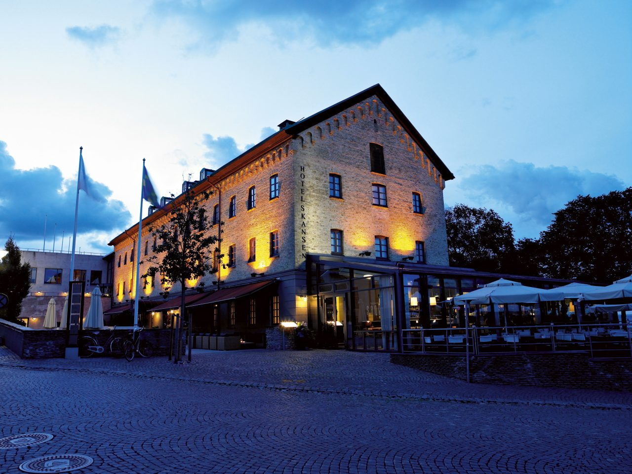 Hotel Skansen Båstad Skåne Schweden