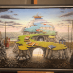 השתתף בציוריו של סוון לינגרץ, סוון מתרגל כעת את האמנות שלו בהוב על חצי האי בבראה ליד באסטאד. תיהנו מאמנות נהדרת בסקניה.