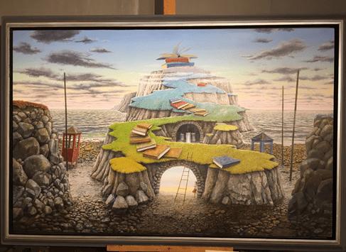 Ta del av Sven Lingardz tavlor, Sven utövar numera sin konst i Hov på Bjärehalvön i närheten av Båstad. Njut av fantastisk konst i Skåne.