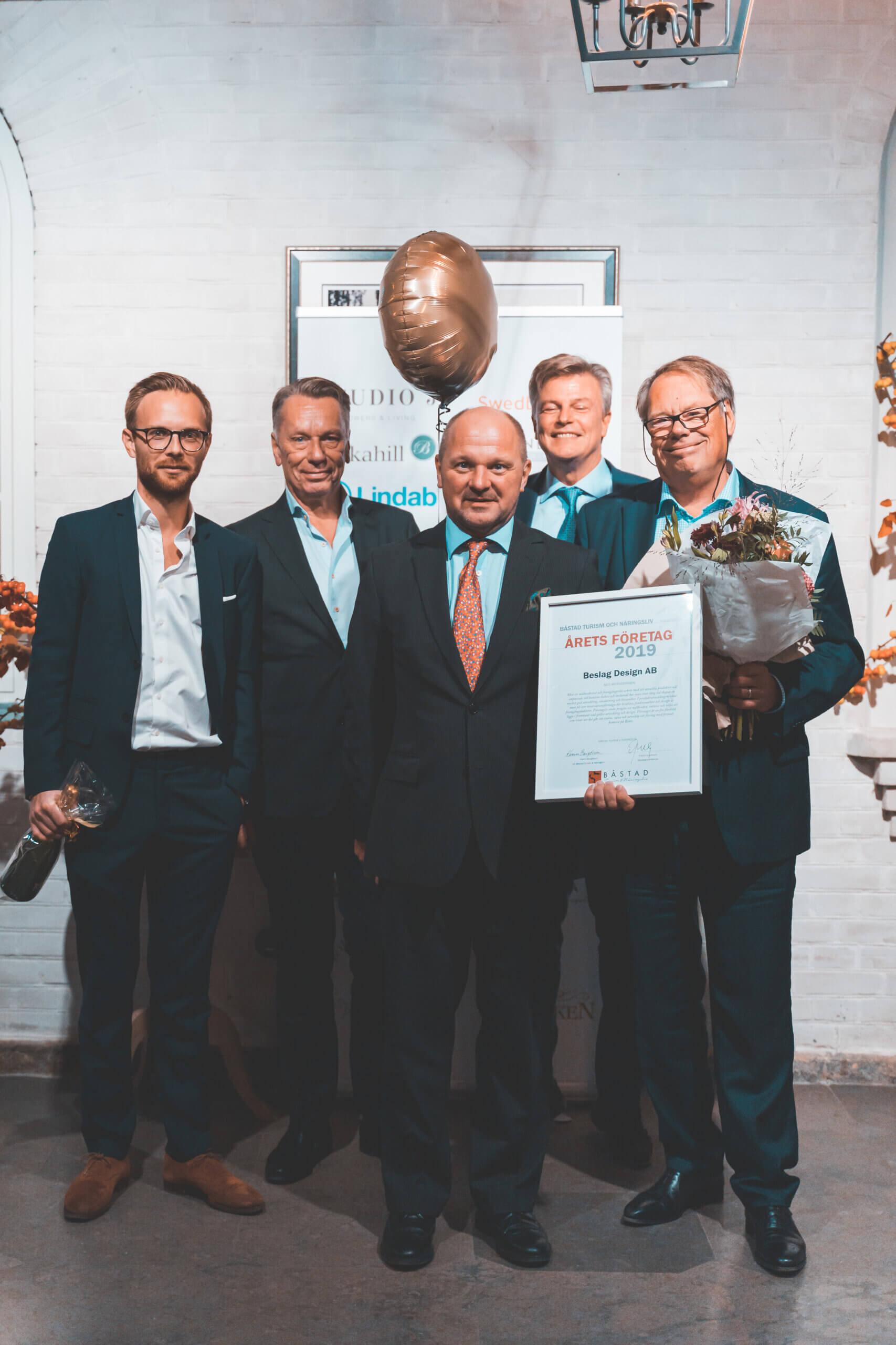 Fittings & Design, Årets selskap i Båstad 2019
