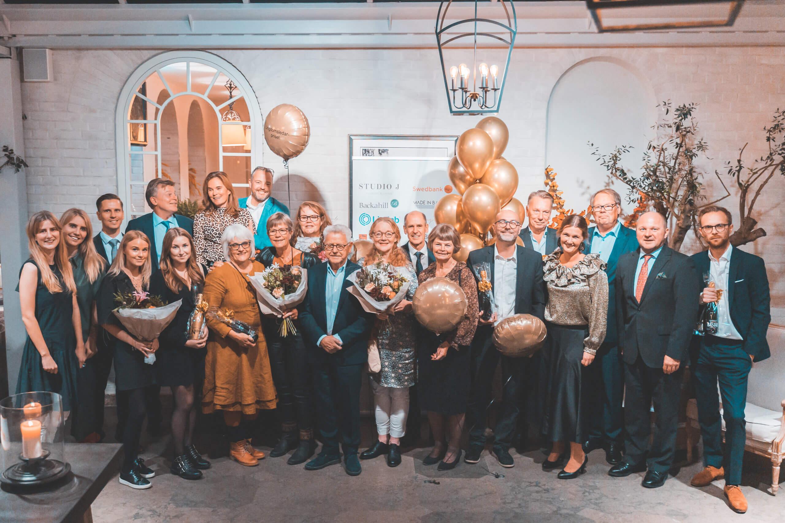 Alle vinnere på årets Business Party i Båstad