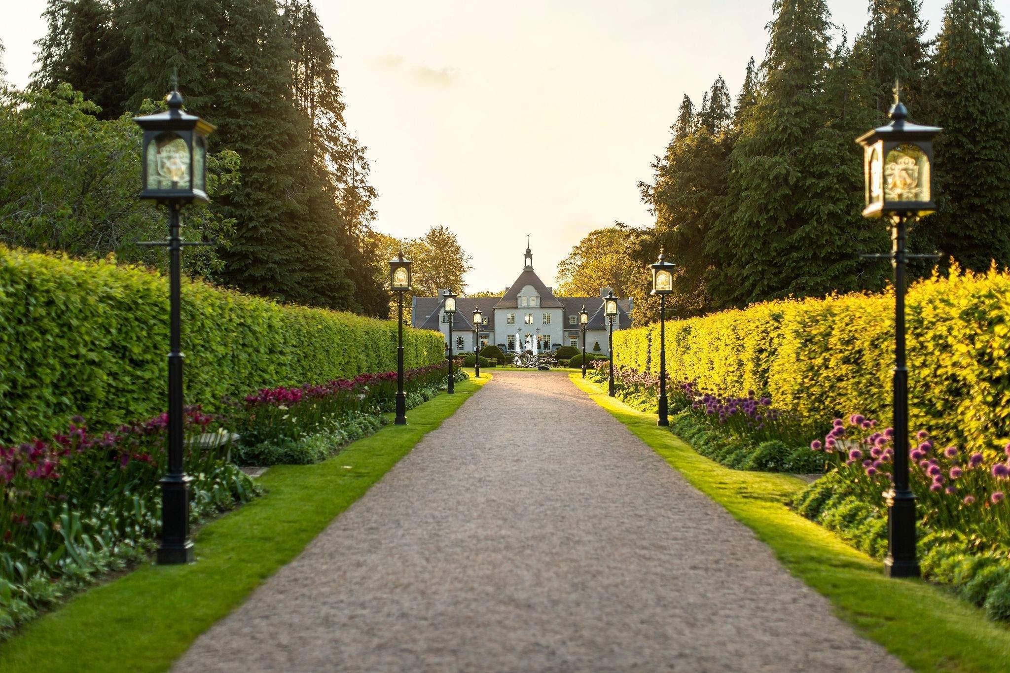 Norrvikens gardens Båstad Skåne Park